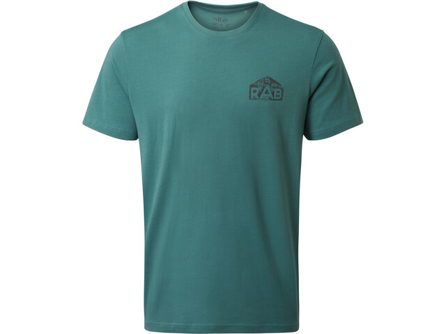 Rab Stance Hex T-shirt Homme, bright arctic